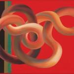 IKI 2001/1241 Pompei részlet 1, Róma 2001. 04. 20. o. v. 65x100 cm